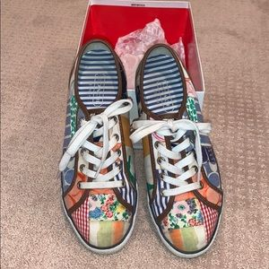 Patchwork Coach sneakers